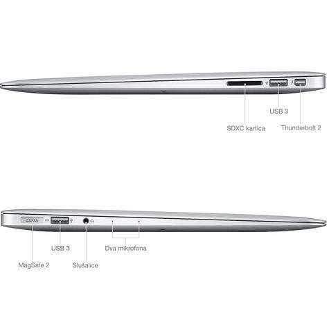 Apple macbook air prikljuci 2
