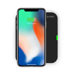 Zens - Bežičn Qi punjač za iPhone 8/8Plus/X