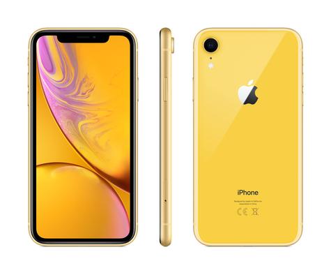 Iphonexr yellow pureangles q418 screen