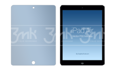 3MK Hard Glass - Zaštitno staklo  za iPad Air 1