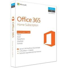 Microsoft Office 365 Home English Preplata 1 godina - 1 licenca (jedan vlasnik) za 5 uređaja Mac/PC + 5 tableta/smartphone