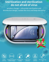 DEVIA Disinfection Box + Wireless Charger 10W