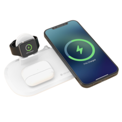 DEVIA Wireless Charging 3 in1 Multi Pad (iPhone/Airpods/Airpods Pro Wireless/Watch)