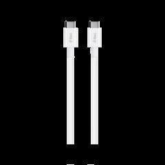 TTEC Kabel - USB-C to USB-C (1,20m) - 3A - White