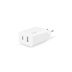 TTEC - Punjač - SmartCharger Duo PD Travel Charger USB-C+USB-A 32W White