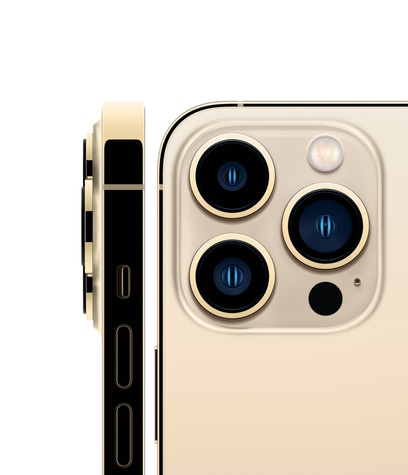 Iphone 13 pro gold hero square 2 up screen  usen