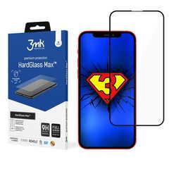 3MK Hard Glass Max zaštitno staklo za iPhone 13 - crno