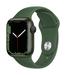 Apple watch series 7 gps 41mm green aluminum clover sport band 34fr screen  usen