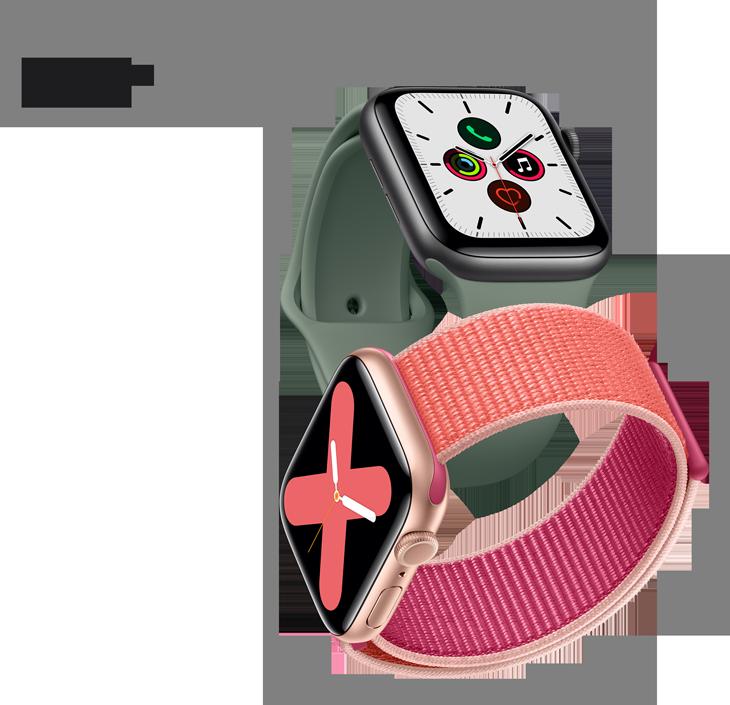 Apple watch series5 header