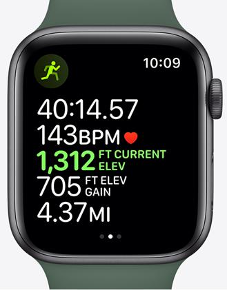 Apple watchs5 ekg trening