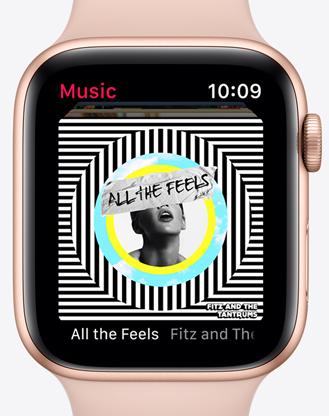 Apple watchs5 ekg glazba