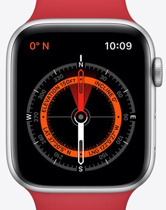 Apple watchs5 ekg kompas