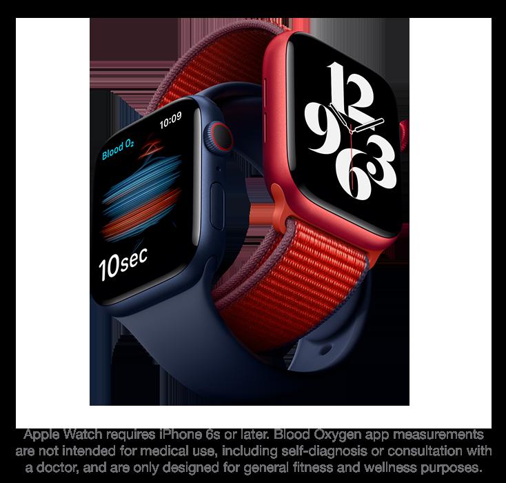 Apple watchs6 disc