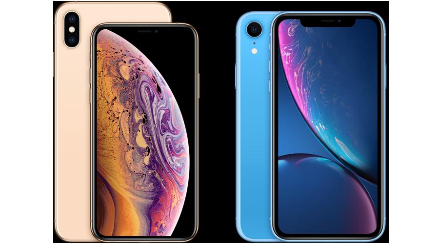 Apple iphonexs both