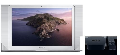 Macbookair appletv